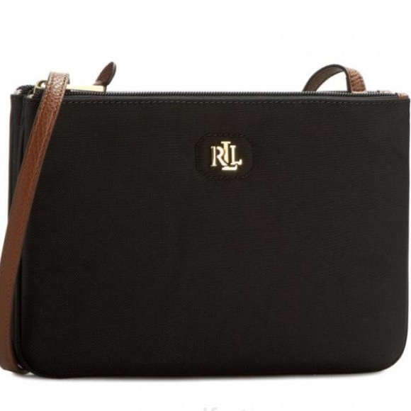 4ba3b6ff6573 Ralph Lauren Nylon Medium Tara Crossbody Bag